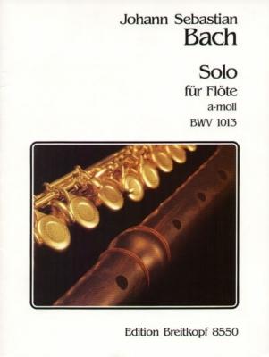 Bach Johann Sebastian : Solo a-moll BWV 1013