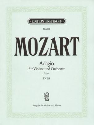 Mozart Wolfgang Amadeus : Adagio E-dur KV 261