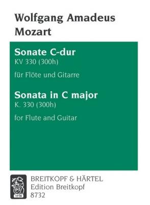 Mozart Wolfgang Amadeus : Sonate C-dur KV 330 (300h)