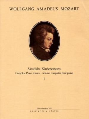 Mozart Wolfgang Amadeus : Klaviersonaten, Band 1: 1-10