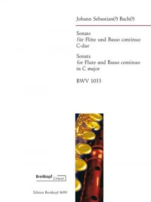 Bach Johann Sebastian : Sonate C-dur BWV 1033