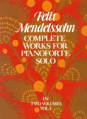 Mendelssohn-Bartholdy Felix : COMPLETE WORKS VOL.1