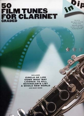 Dip In 50 Graded Film Tunes For Clarinet