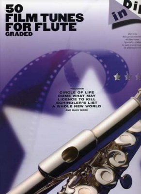 Dip In 50 Graded Film Tunes For Flute
