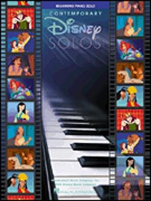 Disney Contemporary Solos Beginning Piano Solo Pf