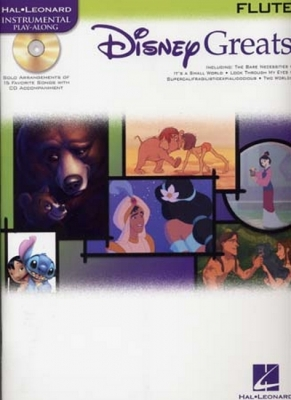 Disney Greats Flute Cd