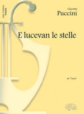 Puccini Giacomo : E LUCEVAN LE STELLE TENORE