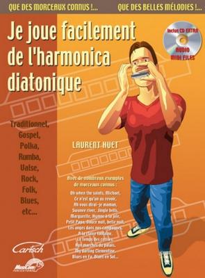 Huet Laurent : JE JOUE FACILEMENT HARMON.+CD