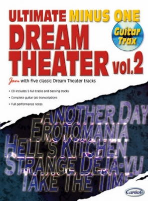 Dream Theater : ULTIMATE MINUS 1 DREAM TH.2+CD