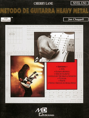 Chappell Jon : HEAVY METAL CH MET.VOL.1 TAB