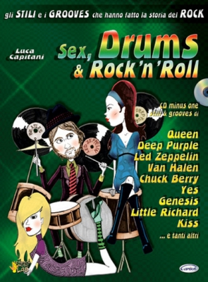 Capitani Luca : SEX DRUMS and ROCK' NROLL+CD