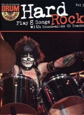 Drum Play Along Vol.3 Hard Rock Cd