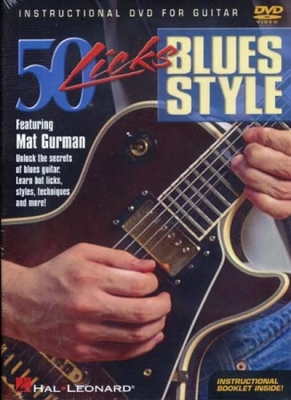 Dvd 50 Licks Blues Styles