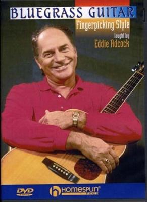 Dvd Bluegrass Guitar Fingerstyle Style Eddie Adcock