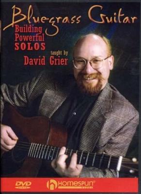 Dvd Bluegrass Guitar Powerful Solos David Grier