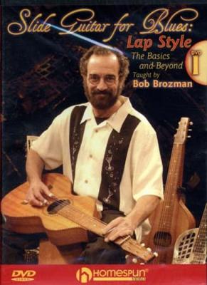 Dvd Brozman Bob Slide Guitar For Blues Lap Style 1