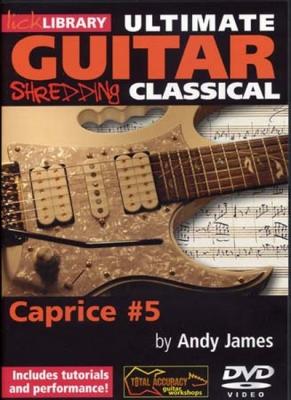 Dvd Lick Library Shredding Classical Caprice Vol.5