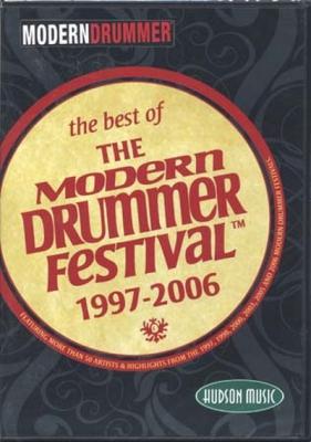 Dvd Modern Drummer Festival 1997-2006 Best Of 2 Dvd