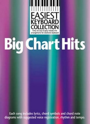Easiest Keyboard Collection Big Chart Hits