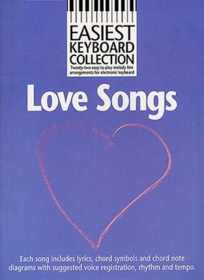 Easiest Keyboard Collection Love Songs Mlc
