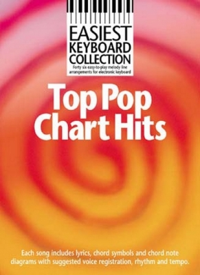 Easiest Keyboard Collection Top Pop Chart Hits Mlc