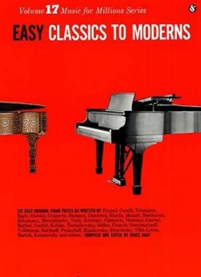 Easy Classics To Moderns Piano Pf