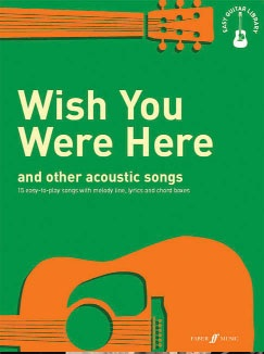 Easy Guitar Library: Wish You Were Her