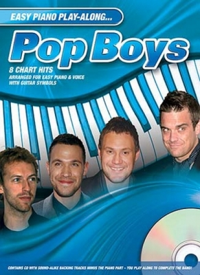 Easy Piano Play Along Pop Boys Pvg Cd