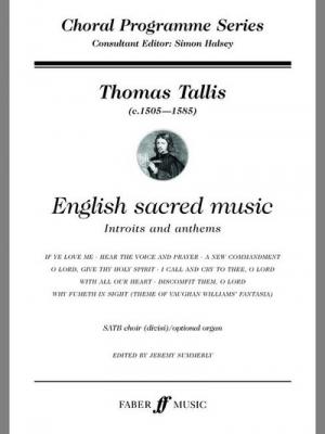 Tallis Thomas : English sacred music. SATB opt.acc (CPS)