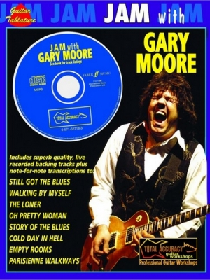 Moore Gary : Jam with Gary Moore (GTAB/CD)