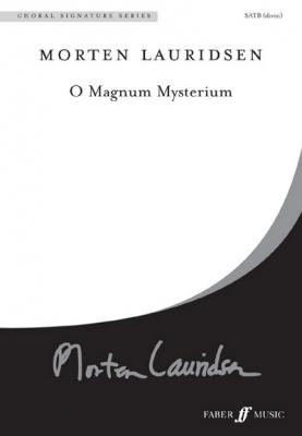 Lauridsen Morten : O magnum mysterium. SATB unacc. (CSS)
