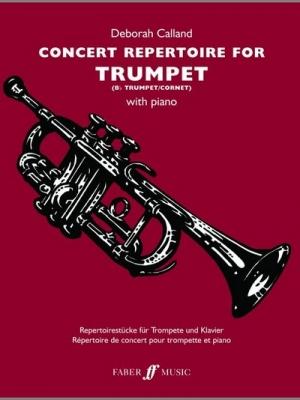 Calland Deborah : Concert Repertoire for Trumpet