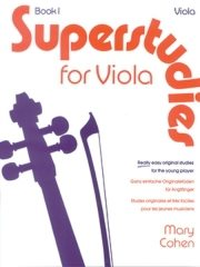 Cohen Mary : Superstudies. Book 1 (solo viola)