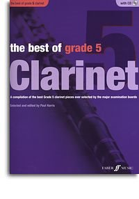 Harris Paul : Best of Grade 5, The (clarinet) (book/CD