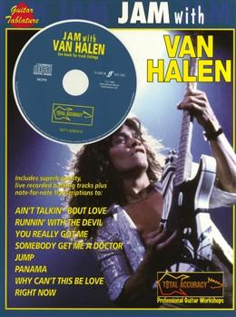 Van Halen : Jam with Van Halen (GTAB/CD)