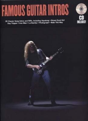 Famous Guitar Intros Tab Cd