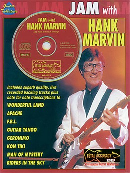Marvin Hank : Jam with Hank Marvin (GTAB/CD)