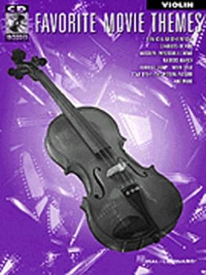 Favorite Movie Themes Violin Cd
