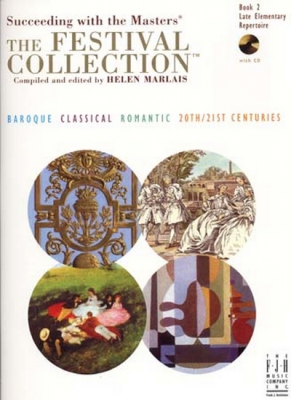 Festival Collection Book.2 Late Elementary Repertoire Cd