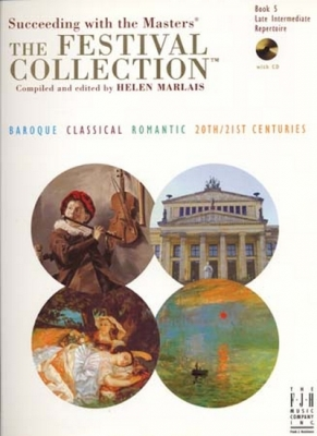 Festival Collection Book.5 Late Intermediate Repertoire Cd