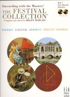 Festival Collection Book.7 Early Advanced Repertoire 2 Cds