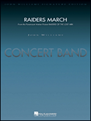 Williams John : Raiders March (concert band)