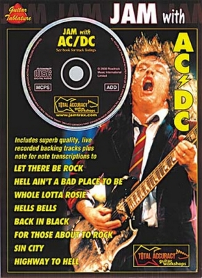 AC / DC : Ac/Dc Jam With Cd Tab
