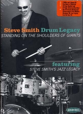 Smith Steve : Dvd Smith Steve Drum Legacy Cd/2Dvd'S