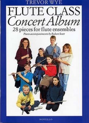 Flute Class Concert Album 28 Pieces For Flute Ensembles W/Po
