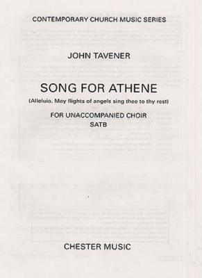 Format Song For Athene Satb John Tavener