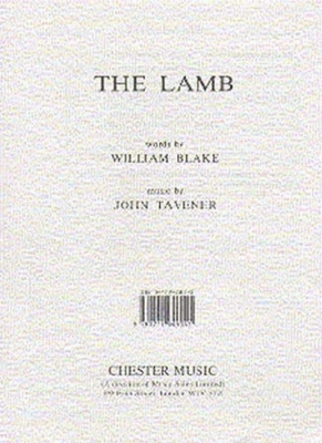 Format Tavener/Blake The Lamb Satb/Piano