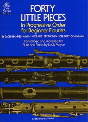 Forty Little Pieces Moyse Flute Collection
