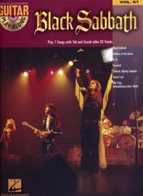 Black Sabbath : Black Sabbath - Guitar Play-Along Volume 67