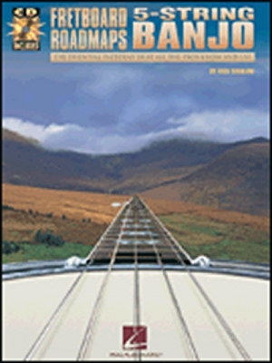 Fretboard Roadmaps 5 String Banjo Tab Cd